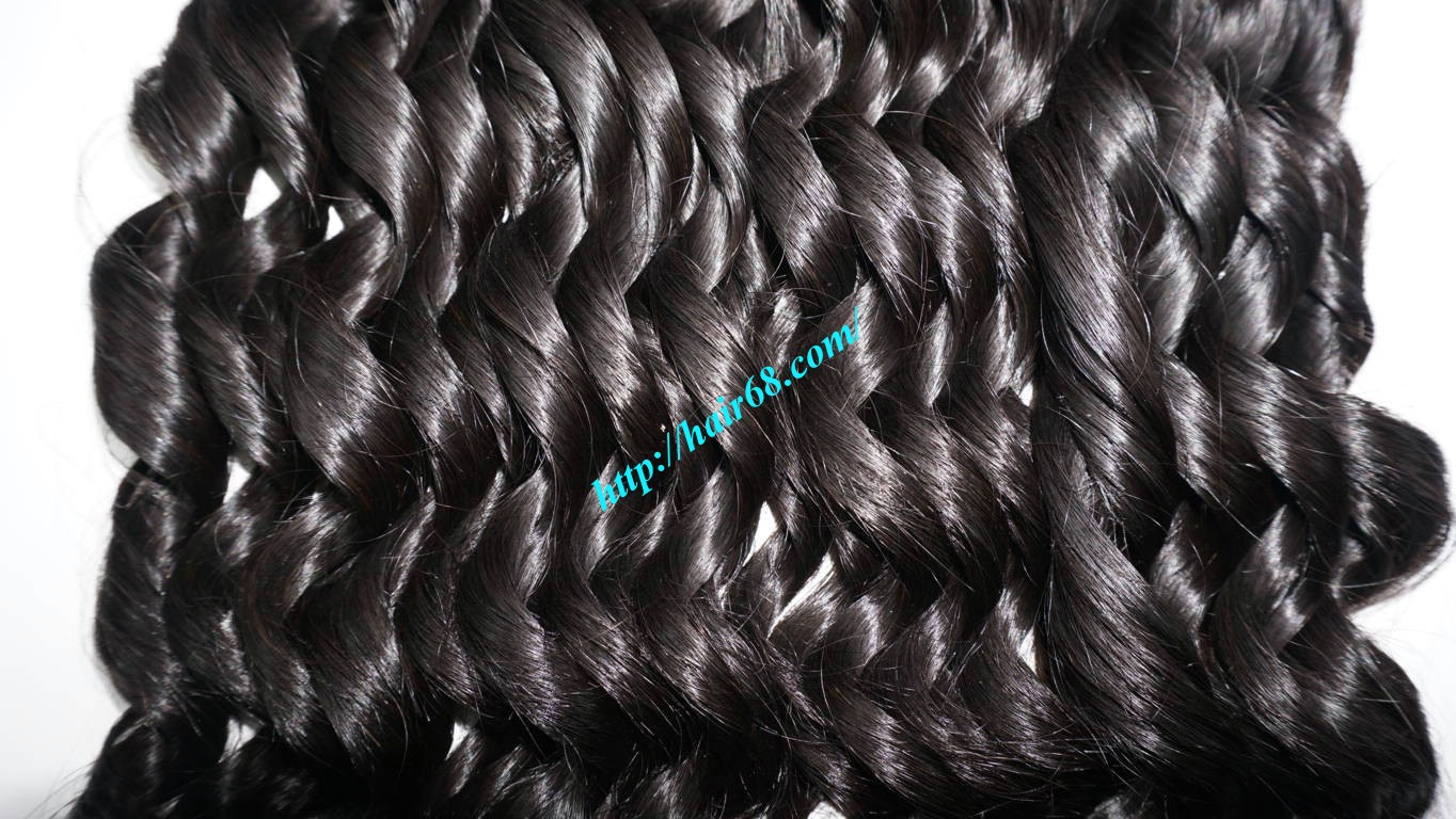 26 inch Loose Curly Hair Weave 8