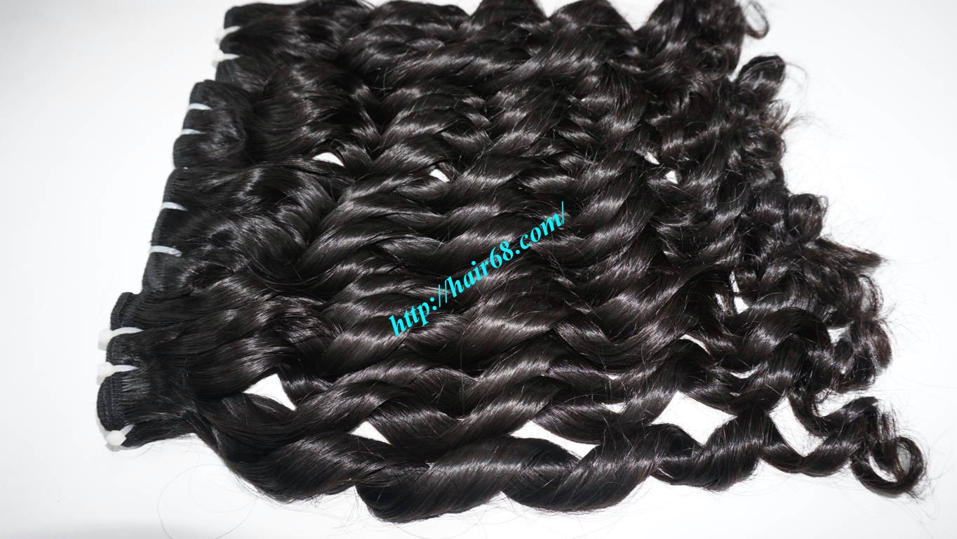 26 inch Loose Curly Hair Weave 9