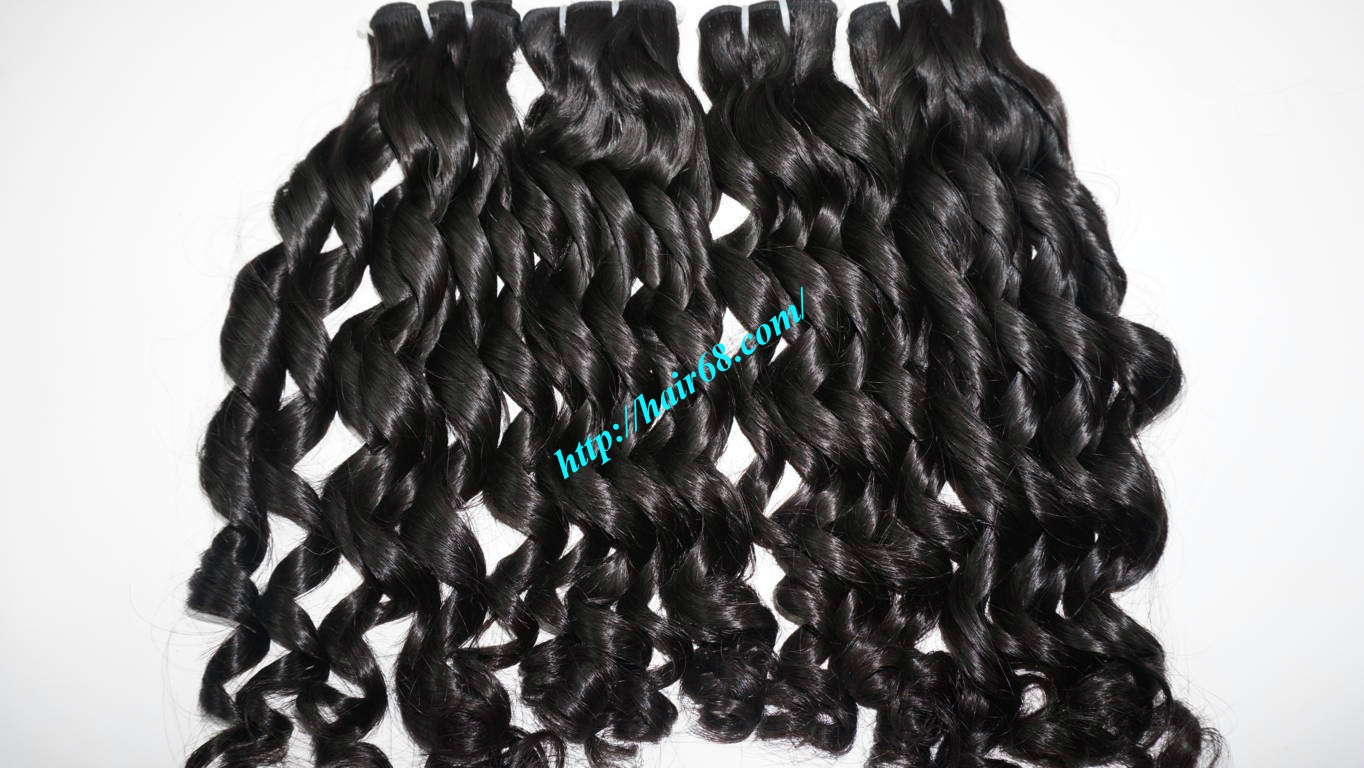 26 Inch Loose Curl Weave Human Hair