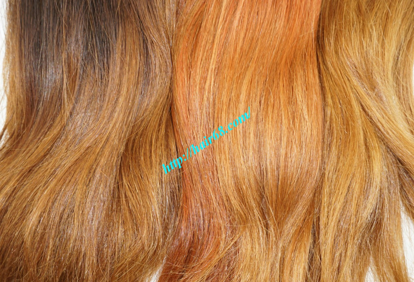 10 inch ombre remy hair extensions 3
