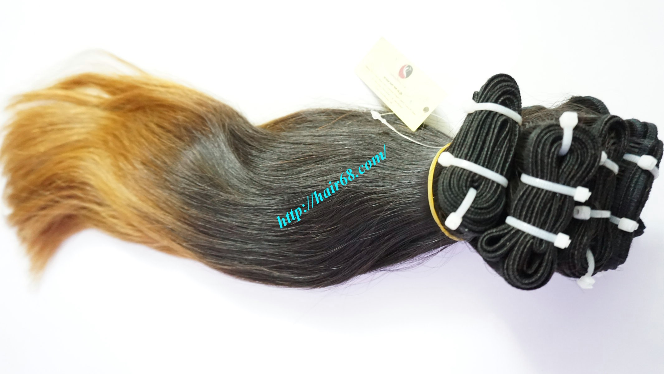 10 inch ombre remy hair extensions 5