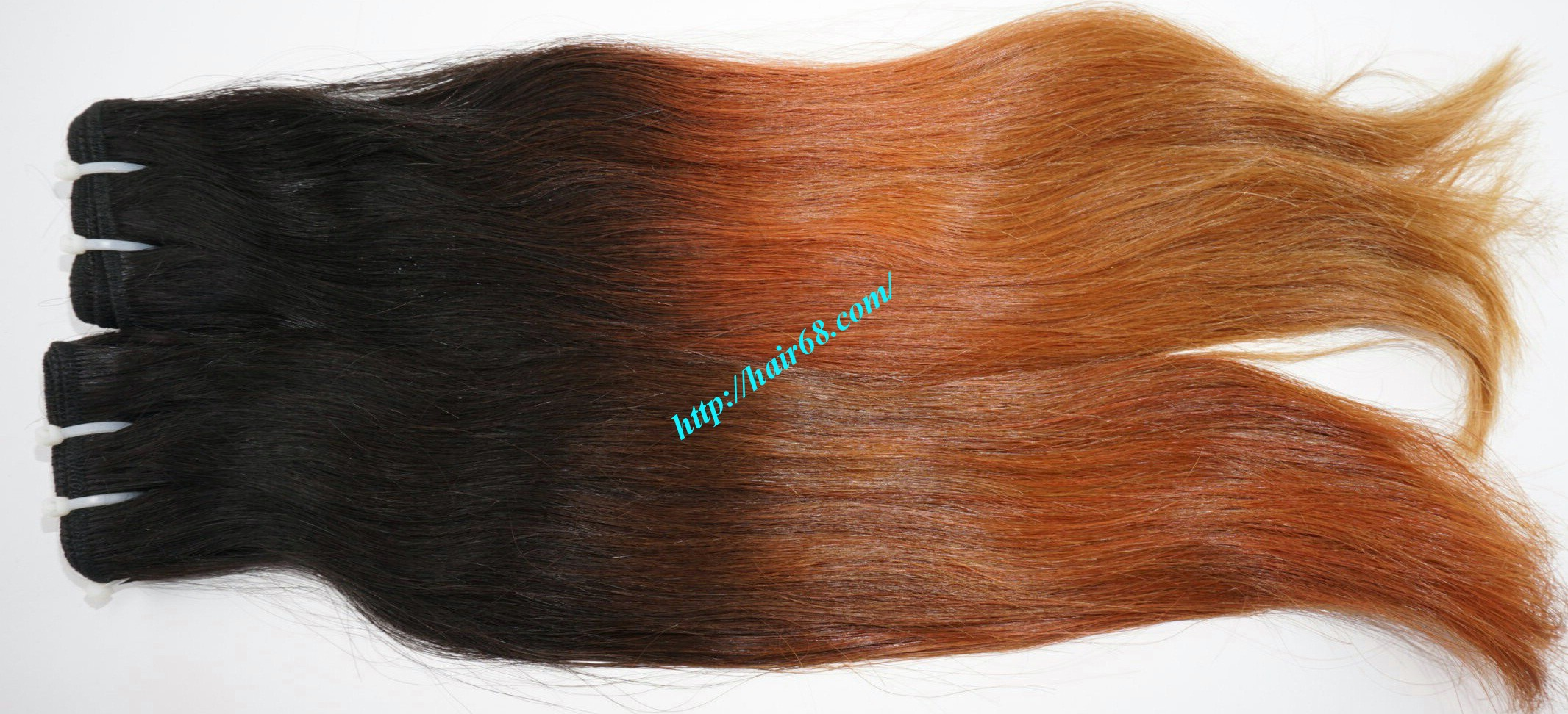 10 inch ombre remy hair extensions 6