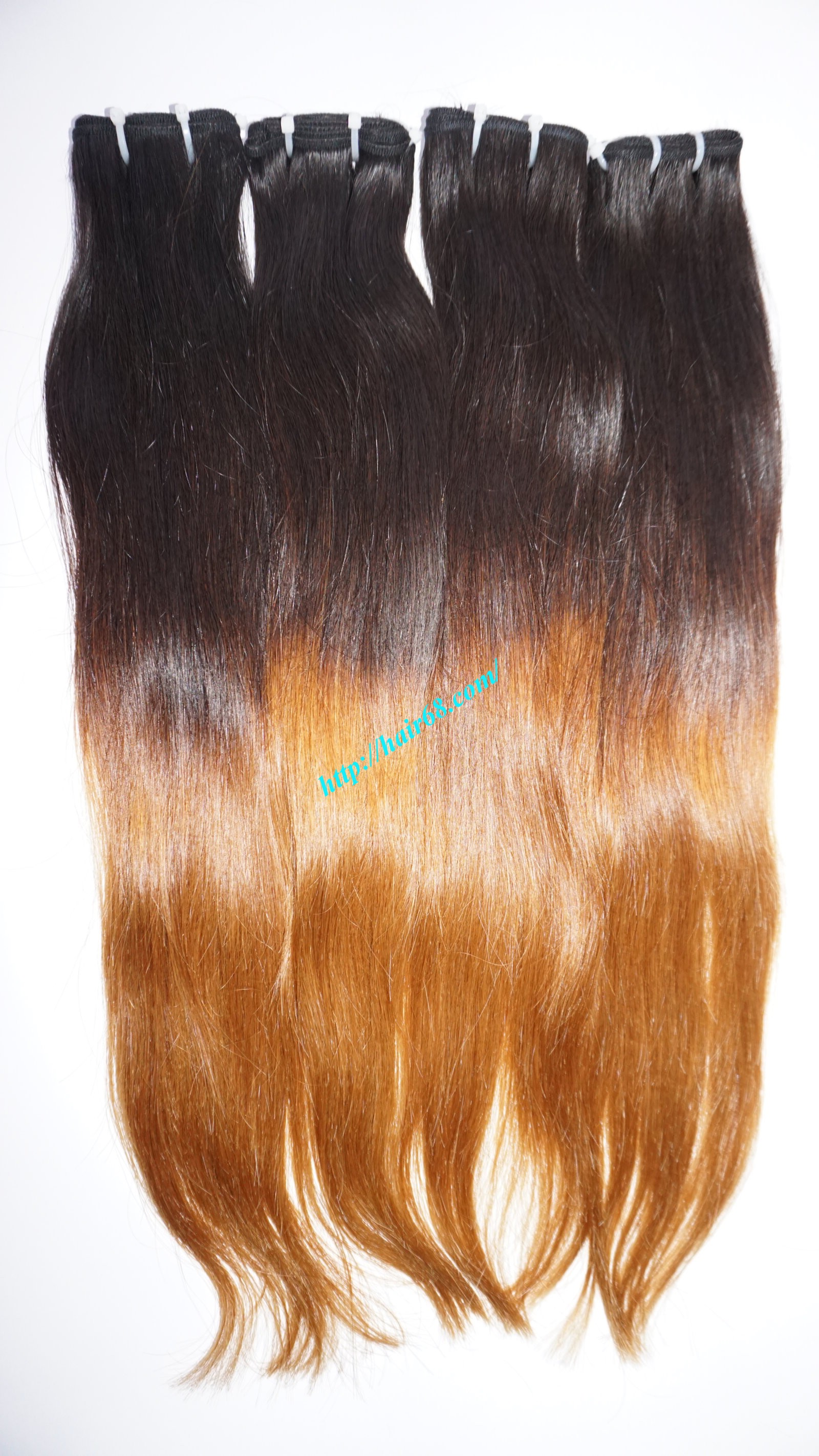 10 inch ombre remy hair extensions 9