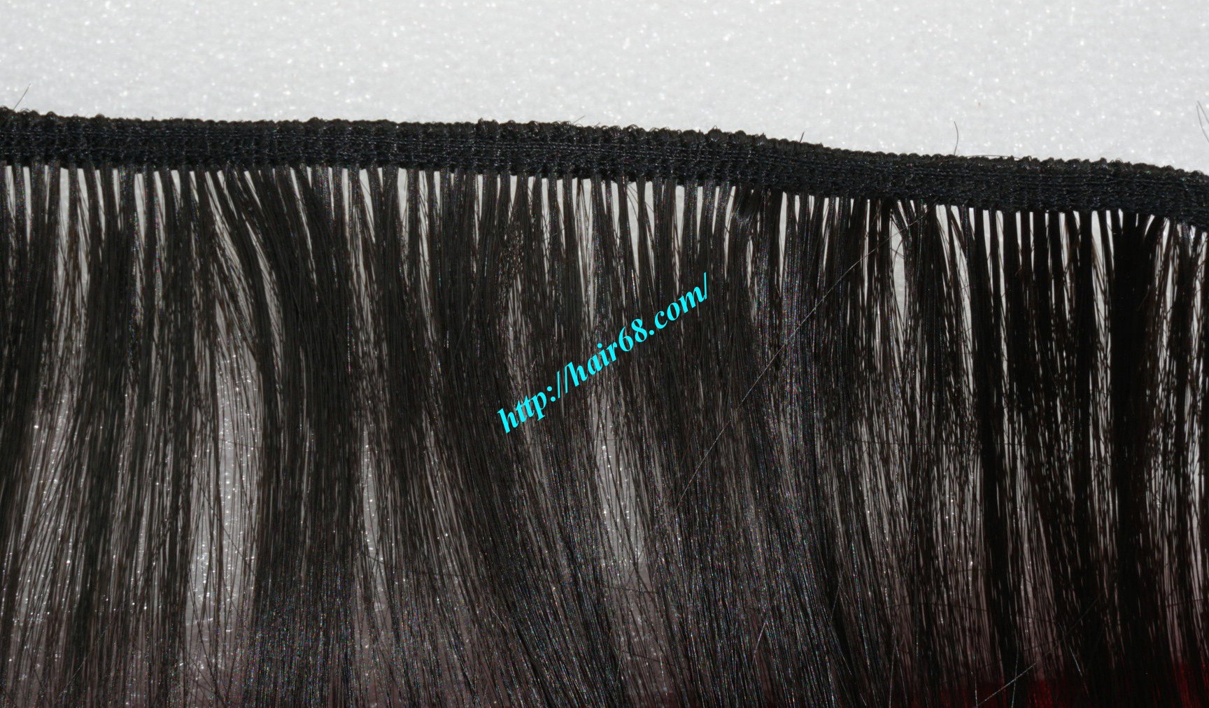 14 inch black ombre hair extensions 2