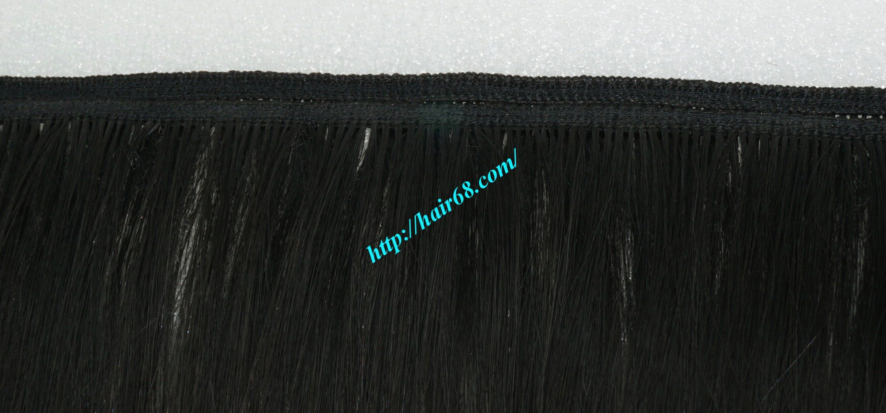 18 inch black to yellow ombre hair extensions 2