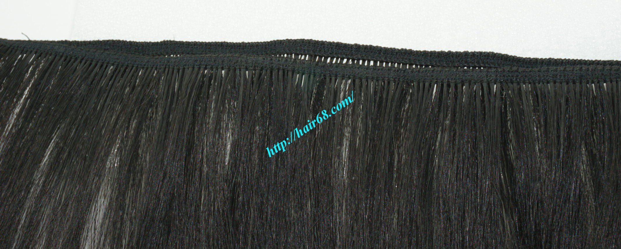 8 inch black ombre hair extensions 2