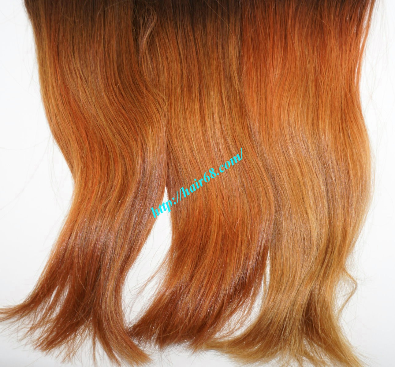8 inch black ombre hair extensions 4