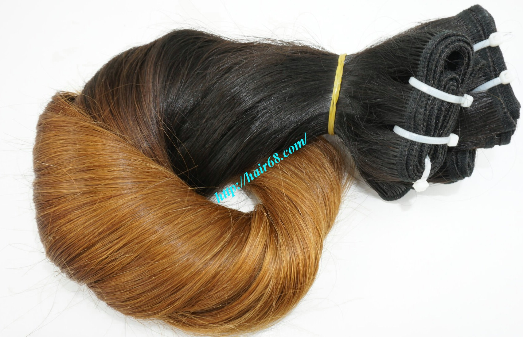 8 inch black ombre hair extensions 5