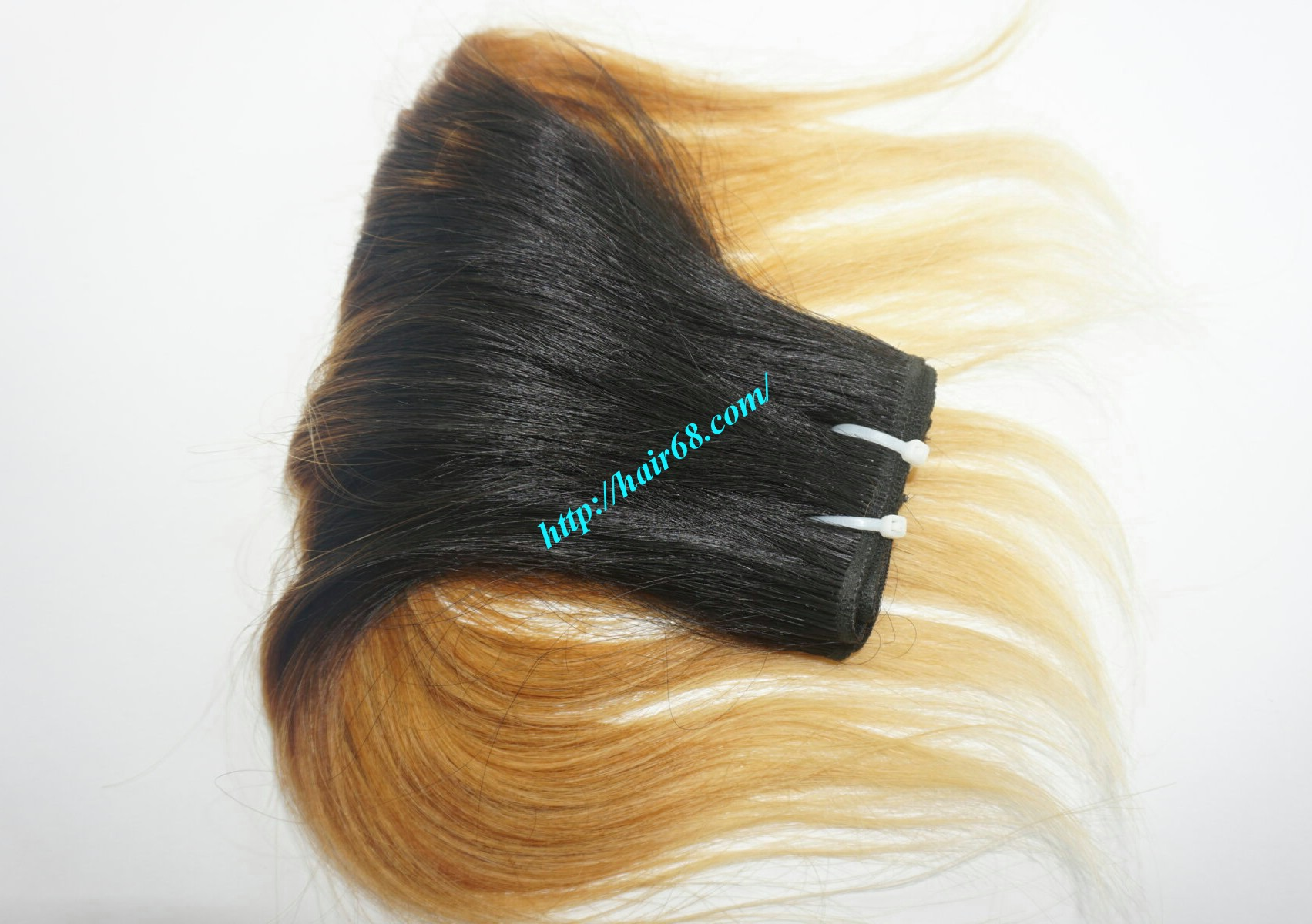 8 inch black ombre hair extensions 6