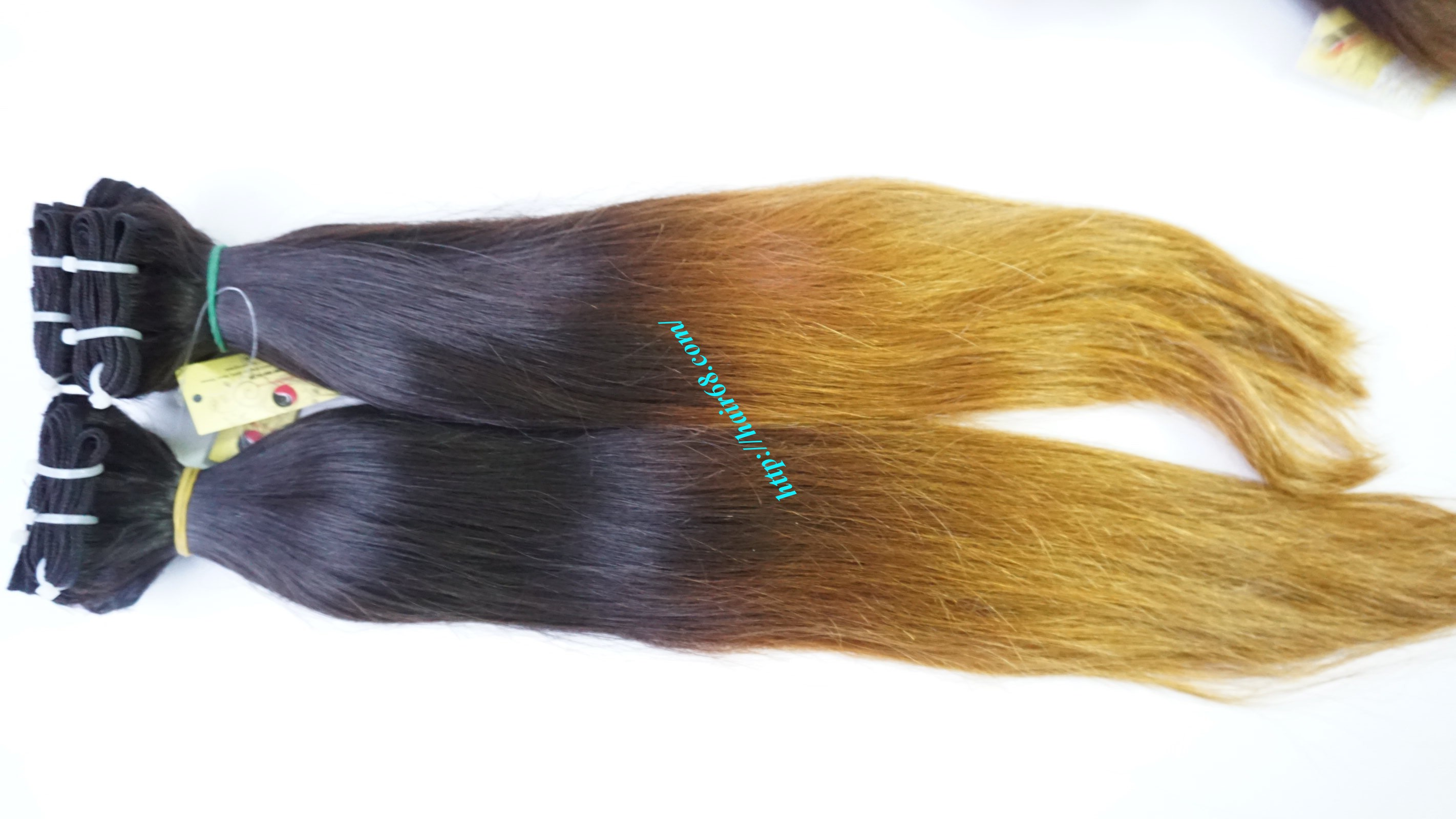 8 inch black ombre hair extensions 7